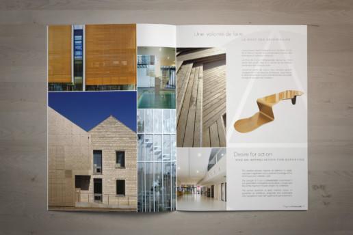 illuminens | graphic design | plaquette agence française