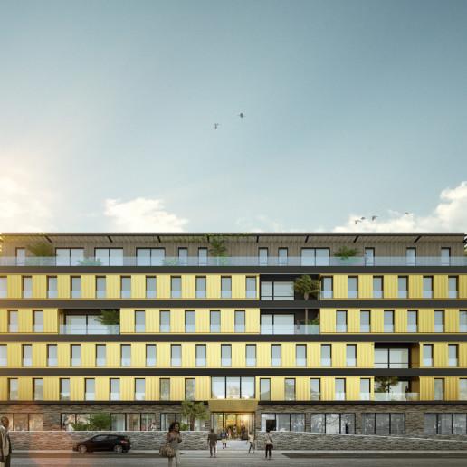 illuminens | perspective architecture 3D | image architecture | cotonou