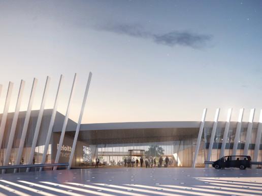 illuminens | perspective architecture 3D | image architecture | deloitte university | michel remon