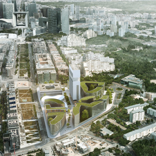 illuminens | perspective architecture 3D | image architecture | nanterre