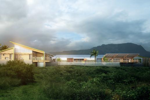 illuminens | perspective architecture 3D | image architecture | crèches ile de la réunion | 14 km