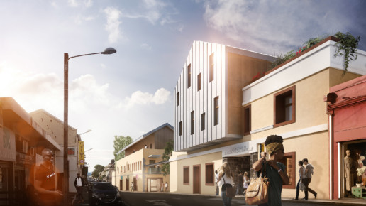 illuminens | perspective architecture 3D | image architecture | prison juliette dodu | saint denis - ile de la reunion | urban architectes