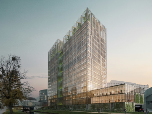 illuminens | perspective architecture 3D | image architecture | igh bois credit mutuel | groupe 6