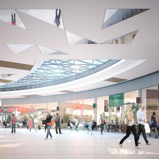 illuminens | perspective architecture 3D | image architecture | carrefour vitrolles